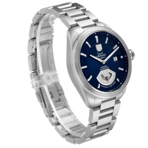 Tag Heuer Carrera Blue Dial Automatic Mens Watch WAV511J Box Papers