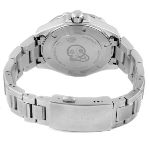 Tag Heuer Aquaracer White Dial Steel Mens Watch WAY2013 Box Card