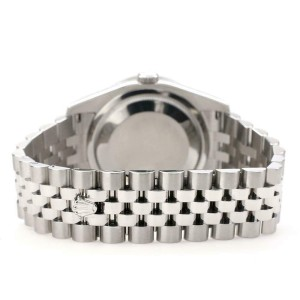 Rolex Datejust 116200 36mm 1.85ct Diamond Bezel/Champagne MOP Dial Steel Watch