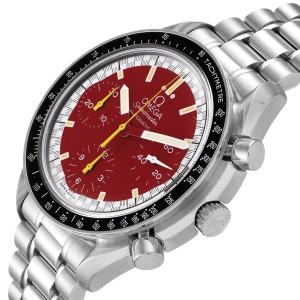 Omega Speedmaster Schumacher Red Dial Mens Watch 3510.61.00