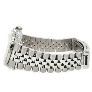 Rolex Datejust 36mm Watch 2.85ct Diamond Bezel/Pave Case/Royal Pink MOP Dial