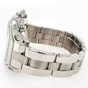 Cartier Roadster Chronograph XL 43mm Silver Roman Dial Steel Watch