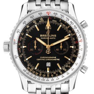 Breitling Chronomatic Limited Edition Steel Mens Watch A41350 Box Papers