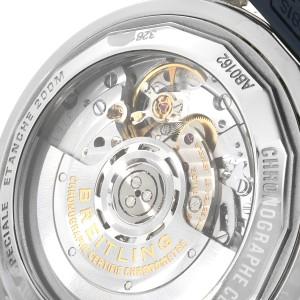 Breitling SuperOcean Heritage II B01 Blue Dial Steel Watch AB0162 Box Papers