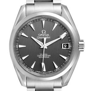 Omega Seamaster Aqua Terra Grey Dial Watch 231.10.39.21.06.001 Box Papers