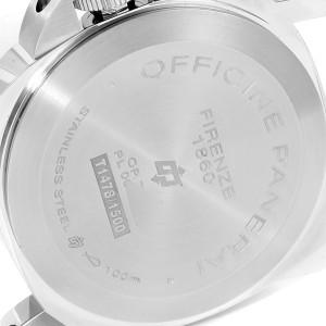 Panerai Luminor Acciaio Logo 44mm Steel Mens Watch PAM00631