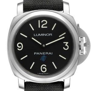 Panerai Luminor Base Logo 44mm Steel Mens Watch PAM00774 Box Papers