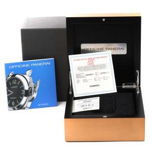 Panerai Luminor Marina 44mm White Dial Watch PAM00113