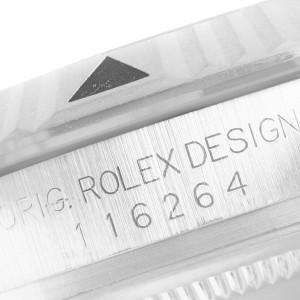 Rolex Datejust Turnograph Black Dial Steel Mens Watch