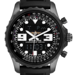 Breitling Chronospace Black PVD Limited Edition Watch M78365