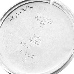 Vacheron Constantin Patrimony White Gold Vintage Mens Watch 6352