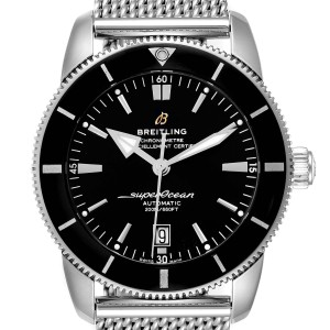 Breitling Superocean Heritage 46 Black Dial Mens Watch AB2020 Box Papers
