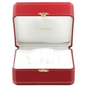 Cartier Tank MC Silver Dial Automatic Steel Mens Watch W5330003