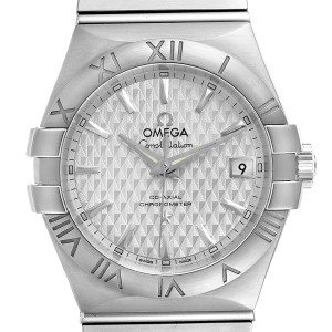 Omega Constellation Co-Axial Steel Mens Watch