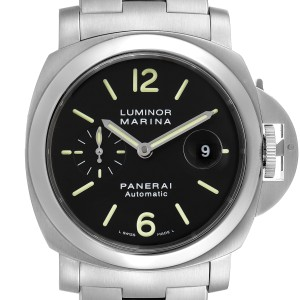 Panerai Luminor Marina Automatic 44mm Steel Mens Watch