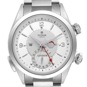 Tudor Heritage Advisor Silver Dial Steel Mens Watch 79620 Unworn