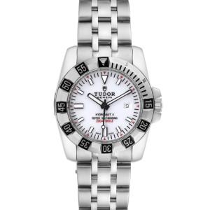 Tudor Hydronaut II Stainless Steel Lavander Dial Ladies Watch 22010 Unworn