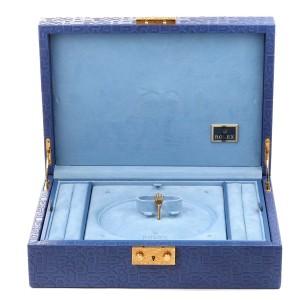 Rolex President Datejust Midsize White Gold Meteorite Diamond Dial Watch 78159