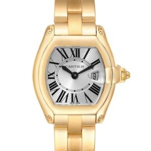 Cartier Roadster Ladies 18K Yellow Gold Ladies Watch W62018V1