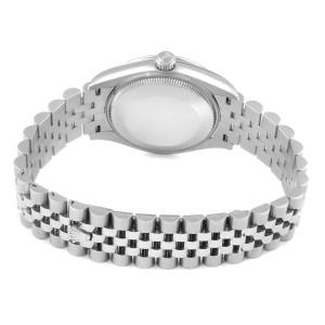 Rolex Datejust Midsize Mint Green Dial Steel Ladies Watch 278240 Unworn