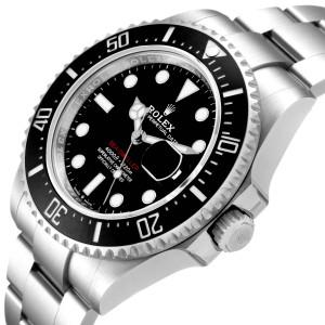 Rolex Seadweller 43mm 50th Anniversary Steel Mens Watch 126600 Box Card
