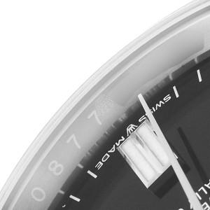 Rolex Oyster Perpetual Black Dial Steel Mens Watch 126000 Unworn