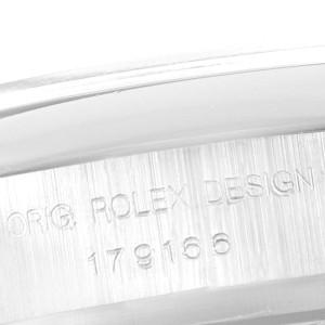 Rolex President Ladies Platinum Silver Diamond Dial Ladies Watch