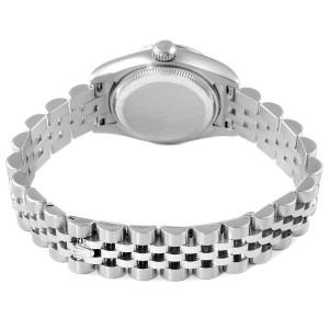 Rolex Datejust Steel White Gold Diamond Ladies Watch 179174