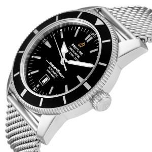 Breitling Superocean Heritage 46mm Black Dial Steel Mens Watch A17320