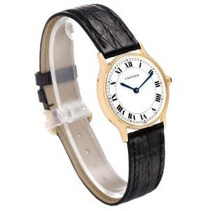 Cartier Ronde Paris 18K Yellow Gold Ladies Vintage Watch