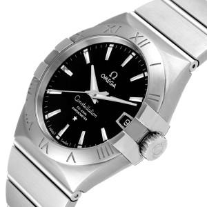 Omega Constellation Co-Axial Steel Mens Watch 123.10.38.21.01.001 Unworn