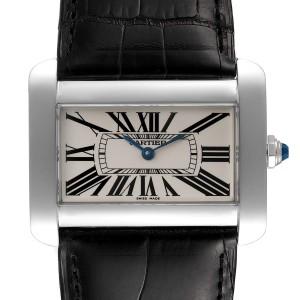Cartier Tank Divan XL Silver Dial Unisex Watch