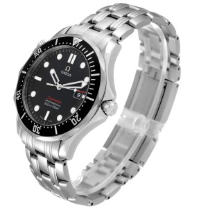Omega Seamaster 300M Black Dial Steel Mens Watch
