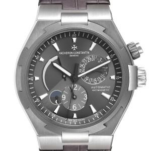 Vacheron Constantin Overseas Dual Time Grey Dial Mens Watch