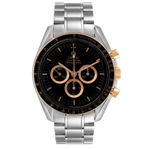 Omega Speedmaster Professional Steel Red Gold MoonWatch