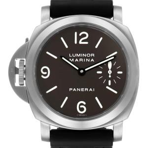 Panerai Luminor Base 44mm Left Handed Titanium Mens Watch