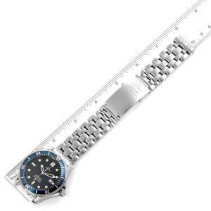 Omega Seamaster 41mm James Bond Blue Dial Steel Watch 2541.80.00