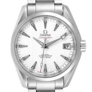 Omega Seamaster Aqua Terra 38.5 Diamond Watch