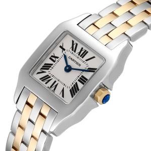 Cartier Santos Demoiselle Steel Yellow Gold Ladies Watch