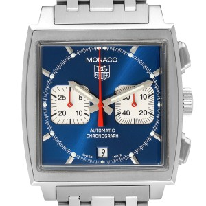 Tag Heuer Monaco Blue Dial Automatic Chronograph Mens Watch
