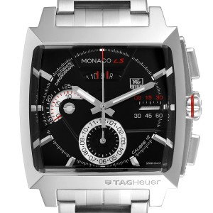 Tag Heuer Monaco LS Chronograph Steel Mens Watch