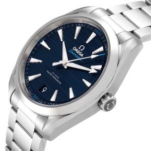 Omega Seamaster Aqua Terra Blue Dial Watch