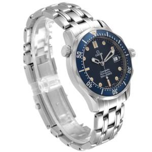 Omega Seamaster Bond 36 Midsize Blue Dial Steel Mens Watch 2561.80.00