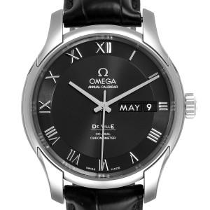 Omega DeVille Annual Calendar Steel Mens Watch