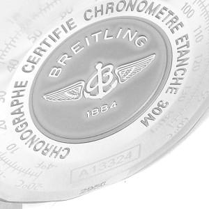 Breitling Navitimer Heritage Black Dial Steel Mens Watch