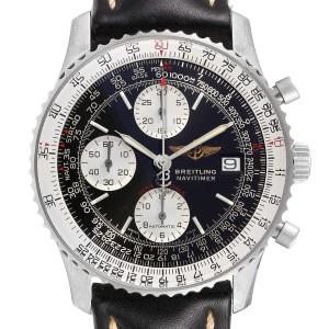 Breitling Navitimer Fighter Chronograph Steel Mens Watch