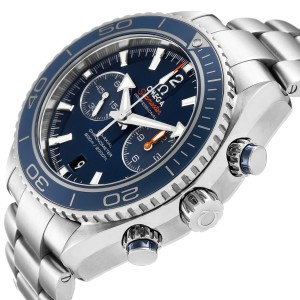 Omega Planet Ocean Co-Axial Titanium Watch 232.90.46.51.03.001 Box Card