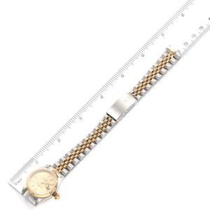 Rolex Datejust Steel Yellow Gold Jubilee Bracelet Ladies Watch 79173