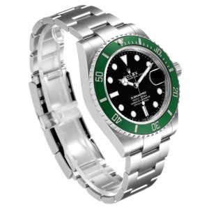 Rolex Submariner Green Kermit Cerachrom Mens Watch 126610LV Box Card