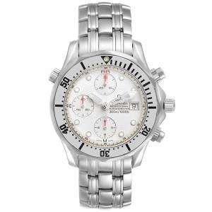 Omega Seamaster Chronograph Autiomatic Steel Mens Watch